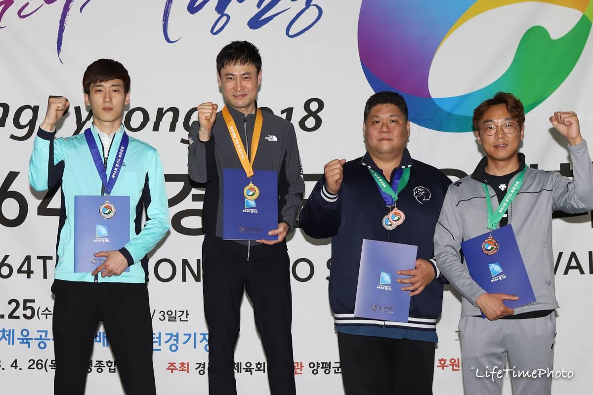 함원식(수원) 오세원(용인) 포켓 10볼 男女 우승