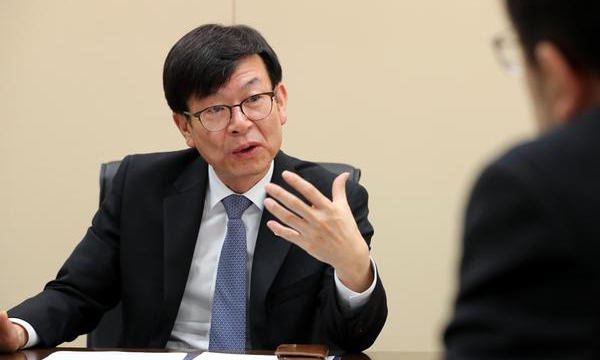 Kim Sang-jo, chairman of the Fair Trade Commission