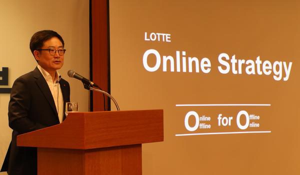 Lotte Shopping CEO Kang Hee-tae