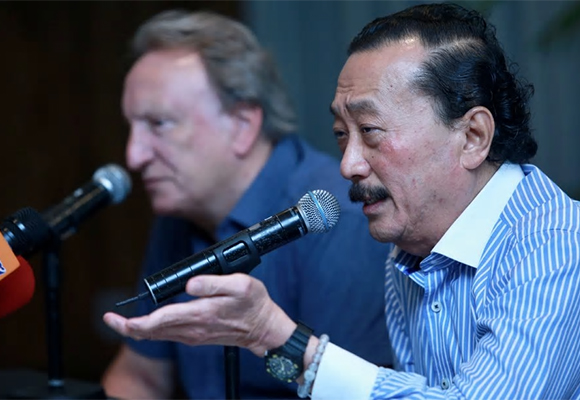 Group executive chairman Tan Sri Vincent Tan says during this difficult time, developers should practice self-financing for their own projects, and indirectly help the government. [NSTP pic by SAIRIEN NAFIS]