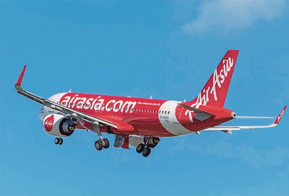 Low cost carrier AirAsia Bhd will double the number of flights between Kota Kinabalu and Singapore to 14 weekly flights from 1 August 2018. [NST file picture]