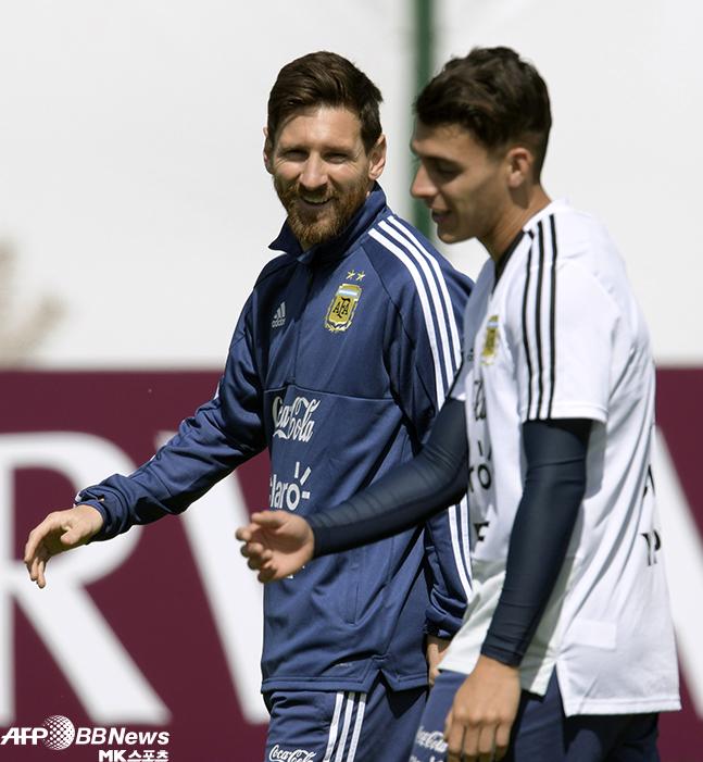 아르헨티나 크로아티아전 '남미의 이승우' 선발?