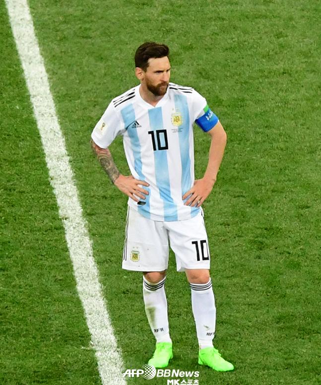 아르헨티나 득점 기댓값 1 ↓…결정력 부족