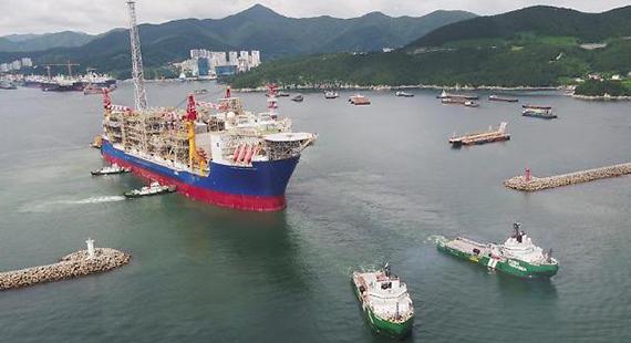 [Photo provided by Daewoo Shipbuilding & Marine Engineering Co.]