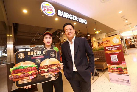 Mr Prapat says Burger King has to adapt to the digital lifestyle to survive.