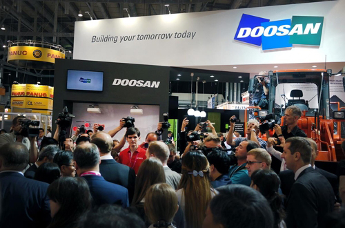 [Photo provided by Doosan Infracore Co.]