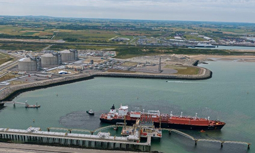 Dunkirk LNG terminal. [Photo provided by Samsung Securities Co.]
