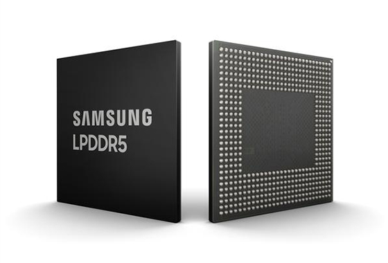 Samsung launches 8Gb LPDDR5 DRAM for 5G, AI-powered mobile apps