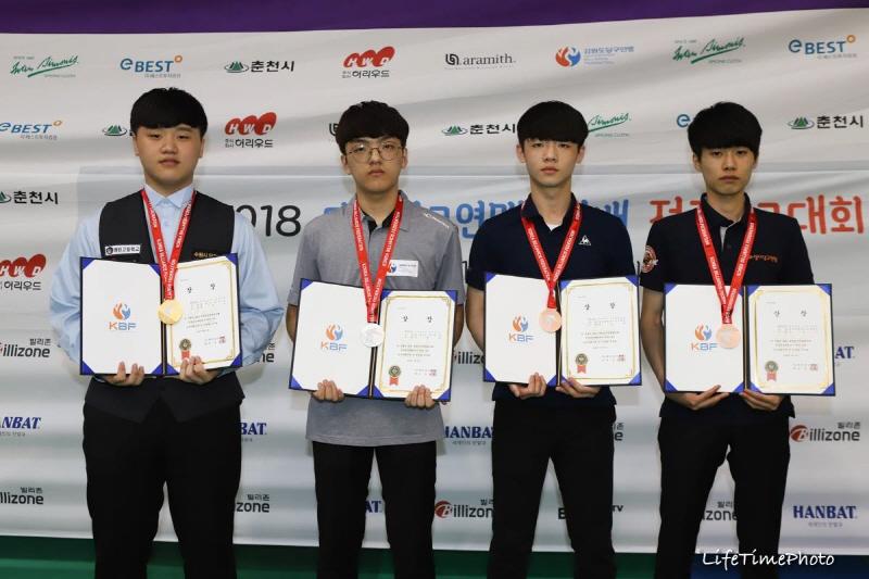 매탄고 정병진, 3쿠션 전국대회 2연속 우승