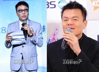이수만-박진영, 2천억원대<br> `연예계 주식부호` 등극