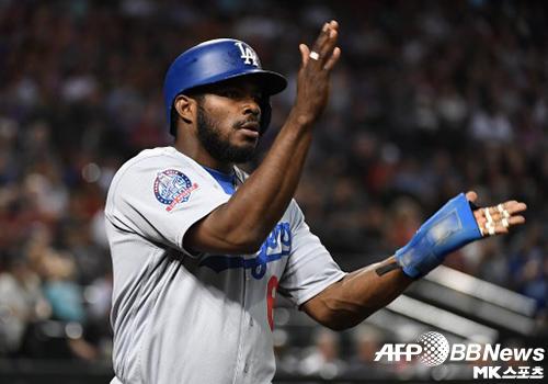 다저스, 애리조나에 역전승…매직넘버 `5`