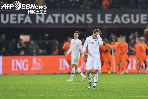 프랑스, 네덜란드에 0-2 패배…독일 리그B 강등