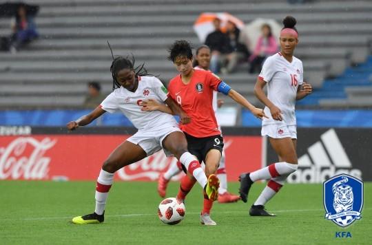 U-17 女축구, U-17 女월드컵 조별리그 2연패 '8강 무산'