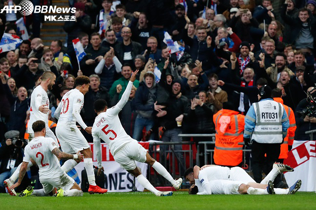 잉글랜드, 크로아티아 꺾고 월드컵 패배 설욕
