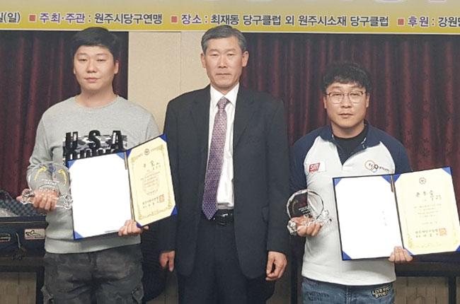 태백 남정현 동호인 '원주 3쿠션오픈' 우승