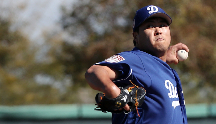 Ryu Hyun-jin, opening the initial selection … 18-year-old