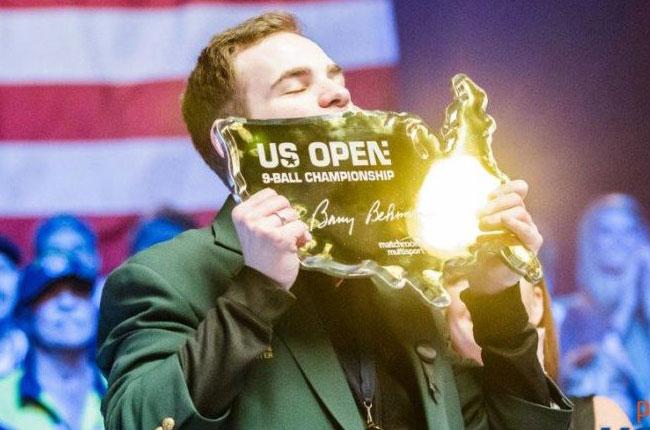 '男포켓볼 세계1위' 조슈아 필러, US오픈 우승