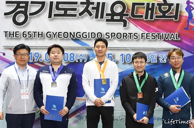 박성우(김포) 권보미(안산) '경기도체육대회' 포켓 金