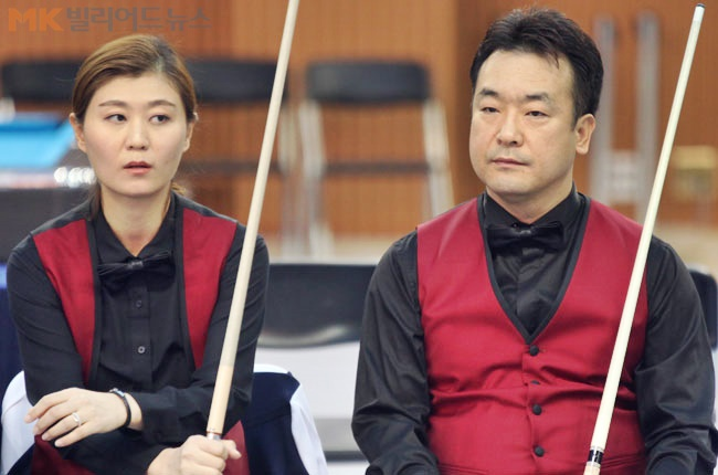 '포켓볼 부부' 정영화-임윤미, 전국당구선수권 복식 정상
