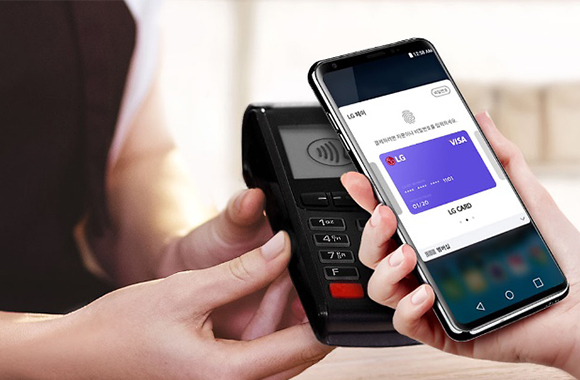 LG Pay now availabe for newer LG smartphones