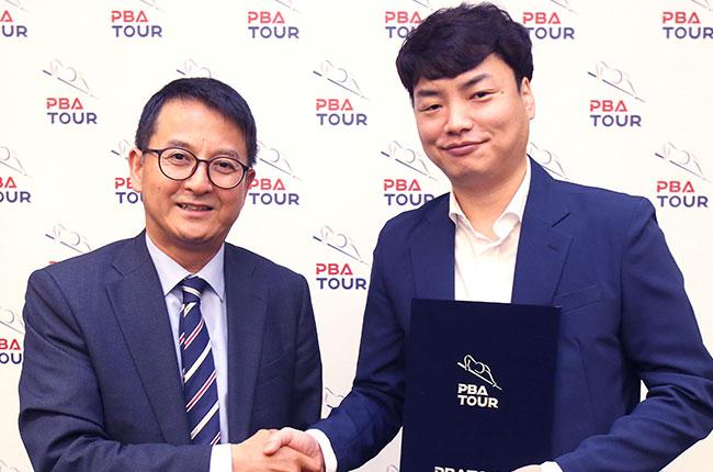 'PBA 준우승' 강민구, 브라보앤뉴와 매니지먼트 계약