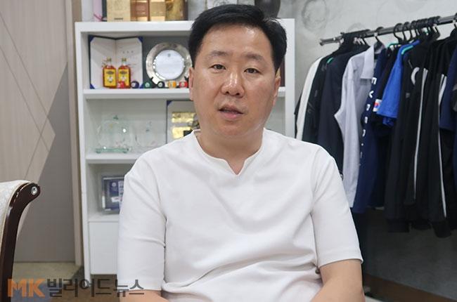 """당구 '노재팬' 큐맨 """"日당구용품, 국산 압도 시절 끝나"""""""
