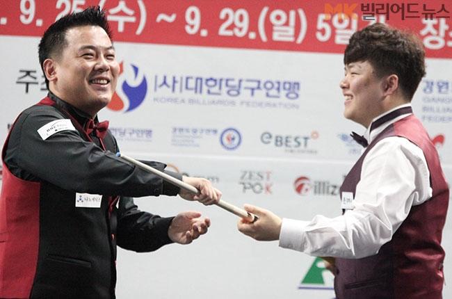 3쿠션 '극강조합' 조명우-조재호 세계팀선수권 정상 도전