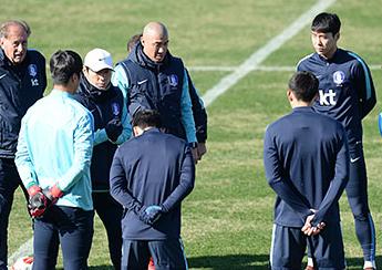 2017 동아시안컵 한국축구대표팀 훈련