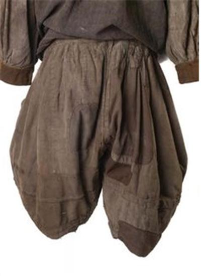 16세기 선원이 입었던 것으로 추정되는 슬롭 /출처=런던박물관 홈페이지