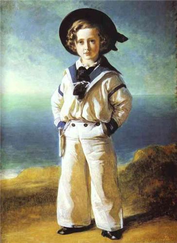 에드워드 왕자의 초상화. 윈터할트의 1846년 작 /출처=위키피디아