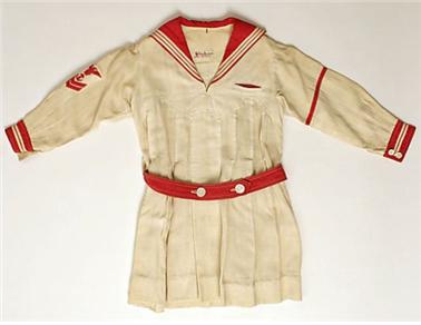 1920년대 미국의 세일러 드레스 /출처=핀터레스트