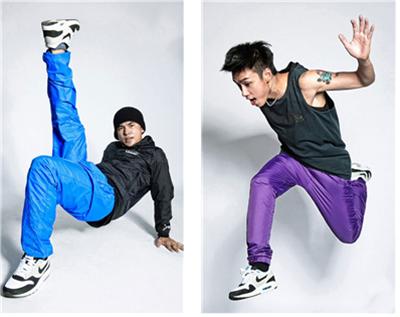 힙합 댄스 바지 /출처=https://www.brambilabong.com/products/bboy-pants