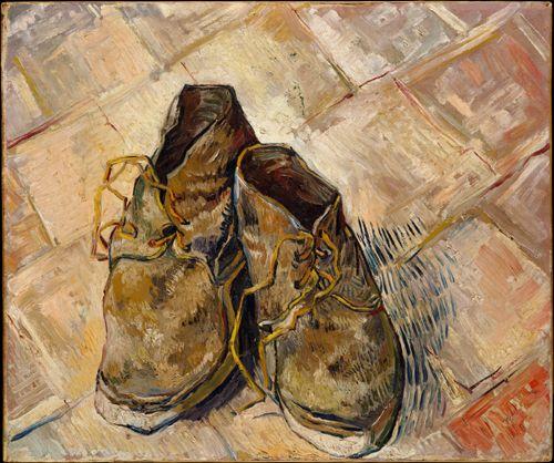 빈센트 반 고흐, <낡은 신발 한 켤레>, 1888