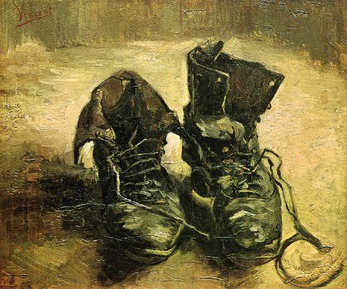 빈센트 반 고흐, <신발 한 켤레>, 1886