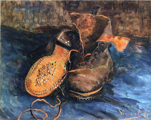 빈센트 반 고흐, <신발 한 켤레>, 1887