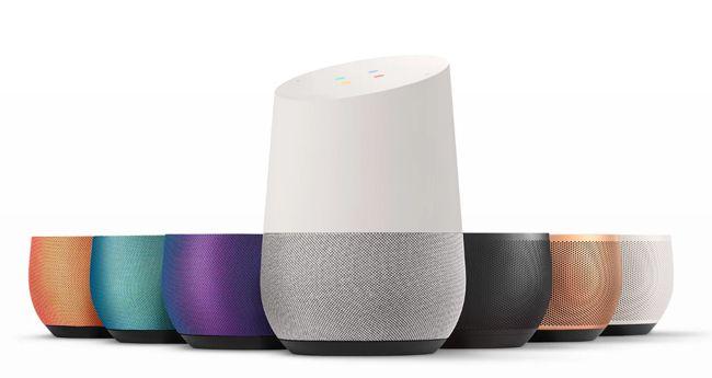 """구글이 구글 어시스턴트를 장착하고 선보인 구글 인공지능 """"구글홈""""/사진=구글 스토어 구글홈 홈페이지"""