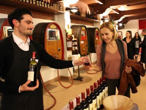 칸티나 발티도네의 와인 숍/사진제공=칸티나 발티도네