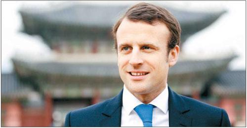 마크롱 프랑스 대통령 후보 /사진=김호영 기자