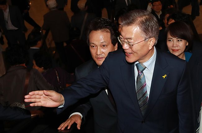 문재인 더불어민주당 대선후보 /사진=연합뉴스
