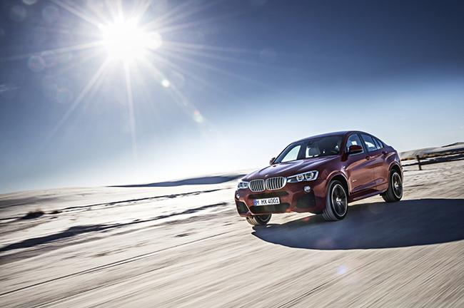 경쟁 모델인 X4와 약간 닮아 보이는 것도 사실이다. /사진=BMW그룹코리아