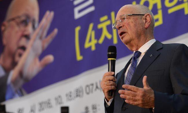 세계경제포럼(WEF·다보스포럼) 회장 클라우스 슈밥/사진=매일경제 이충우 기자