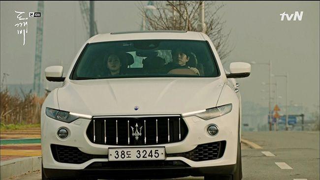마세라티 르반떼는 tvN 인기 드라마