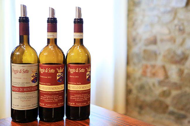 포지오 디 소토의 와인들
