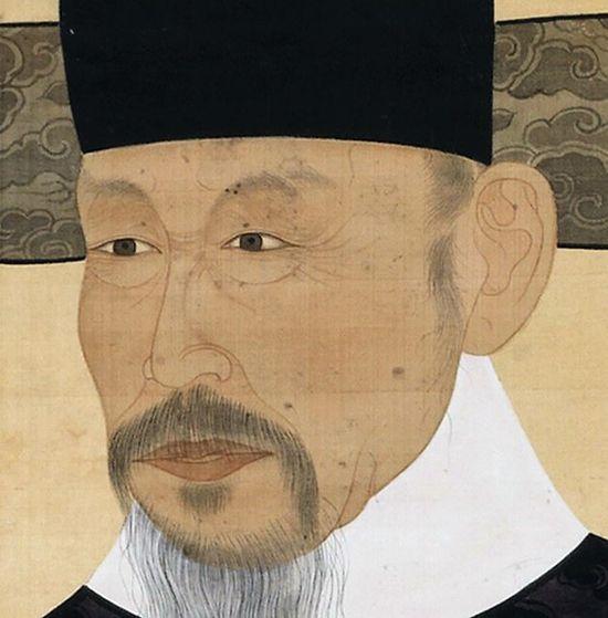 선조때 공조판서를 지낸 이충원 공신초상. 그는 중국인 장수의 강권으로 인육을 먹었다고 어우야담은 전한다.