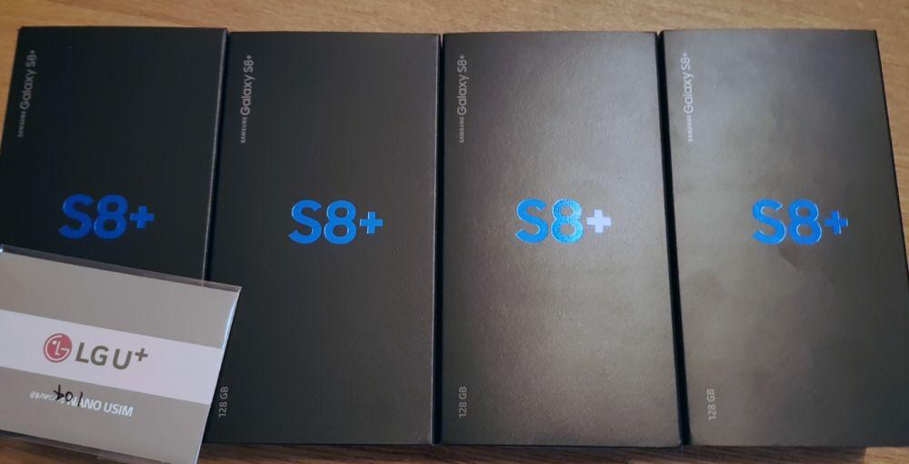 디스플레이 불량 판정을 받고 반품을 기다리는 4대의 갤럭시S8.