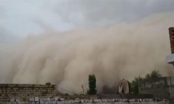 펀잡 지방의 모래바람 /사진=위키피디아