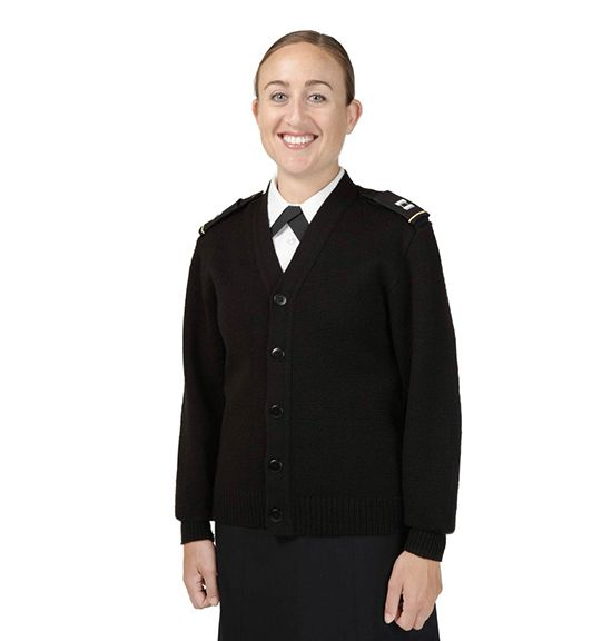 미 해군에게 보급되는 남녀공용 카디건