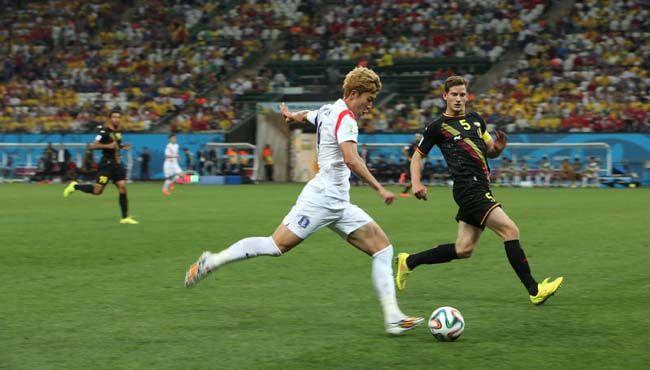 2014 브라질월드컵 H조 3차전 한국과 벨기에의 경기(2014.6)/사진=이충우 기자