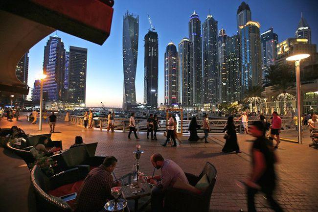 두바이 거리의 모습 /사진=AP