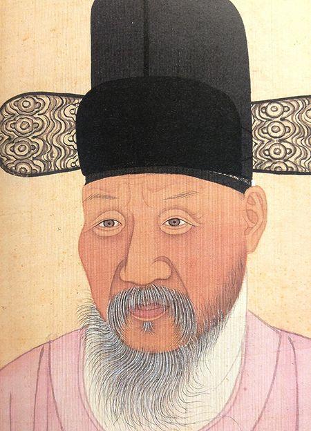 혜경궁 홍 씨의 아버지이자 사도세자의 장인인 홍봉한. 일본 덴리대 소장.